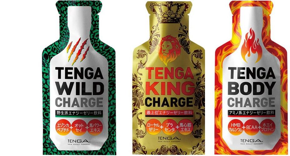 NEW TENGA CHARGE (WILD・KING・BODY)登場